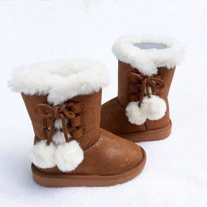 ☆ Rampage Girls Lil Becky Pull On Snow Boots NEW